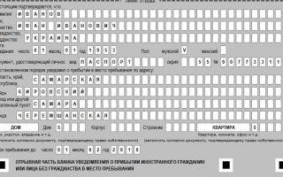 Регистрация иностранных лиц в управлении фмс. образец заявления
