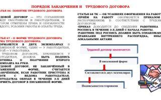 Трудовой договор: содержание и порядок заключения