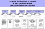 Правила проведения открытого и закрытого аукционов на основании требований 44-фз