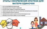 Льготы по ипотеке для матери-одиночки: дают ли банки займ без первоначального взноса?