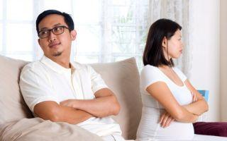 Развод во время беременности по инициативе жены