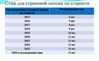 Страховая пенсия по старости в 2019 году и механизм ее получения