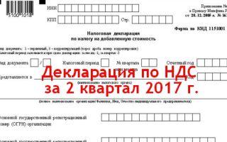 Cрок сдачи налоговой декларации по ндс. штрафы и хранение документов