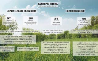 Подробный анализ характеристик земель ижс, снт, днп