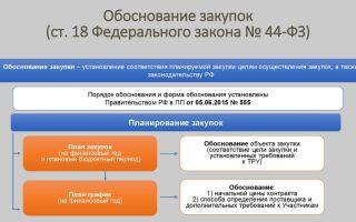 Обоснование закупок по статье 18 федерального закона № 44-фз: порядок действий, образец заполнения. обоснование единственного поставщика