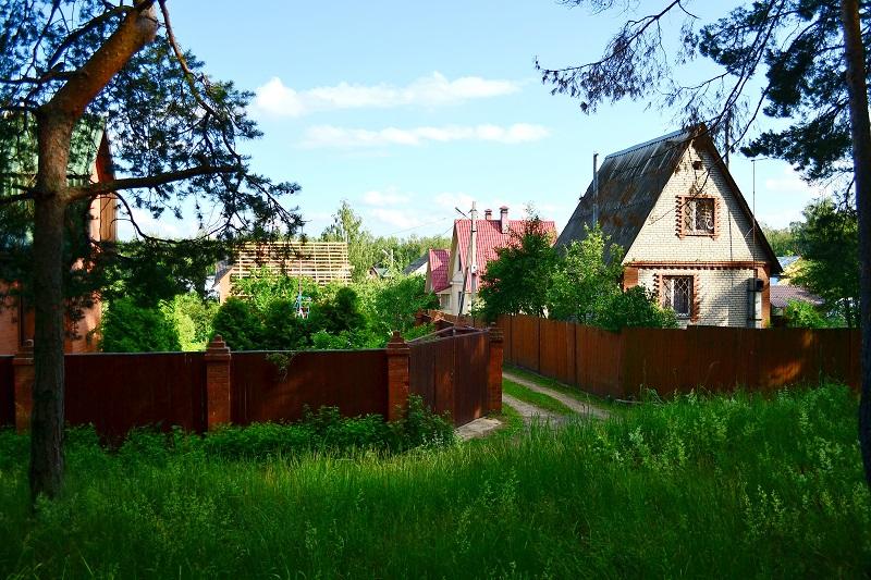 Заезд на садовый участок к зоп чужого садоводства